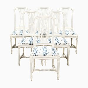 Sparreholm Dining Chairs, 1980s, Set of 6