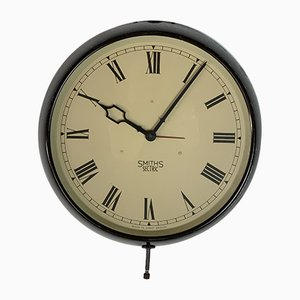 Industrial Wall Clock from Smiths, 1940s