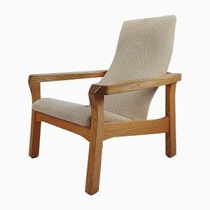 Mid Century Oak Anthroposophical Armchair, 1960s