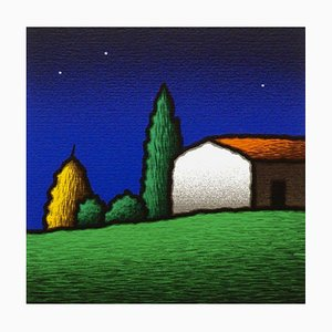 Tino Stefanoni, Casalino, Color Screen Print