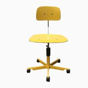 Chaise de Bureau d'Architecte Pivotante Mid-Century par Jørgen Rasmussen pour Kevi, Danemark