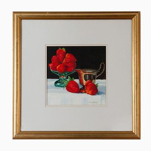 Brian Keany 1945-2007, Strawberries, Watercolor