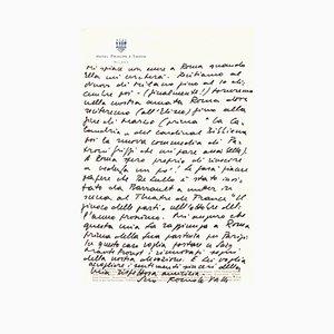 Romolo Valli, Correspondence, 1960s