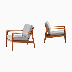 Model USA 75 Lounge Chairs by Folke Ohlsson for DUX, Sweden, Set of 2