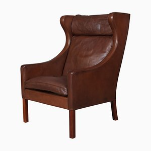 Model 2204 Wing Back Chair by Børge Mogensen