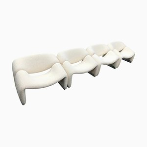 F598 Groovy Chair by Pierre Paulin for Artifort, The Netherlands, 1972