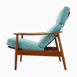 Adjustable Armchair by Arne Vodder for France & Son, Denmark, 1960s