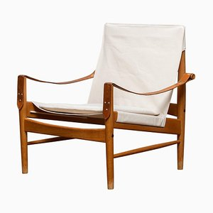 Safari Lounge Chair by Hans Olsen for Viska Möbler, Kinna, Sweden, 1960s
