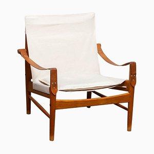 Safari Lounge Chair by Hans Olsen for Viska Möbler, Kinna, Sweden, 1960s