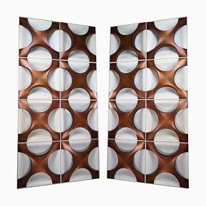 Modern Wall Light Sculptures by Dieter Witte and Rolf Krüger for Staff Leuchten
