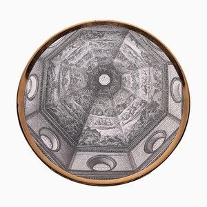 Dish by Piero Fornasetti, 1913-1988