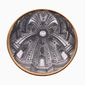 Dish by Piero Fornasetti, 1913-1990