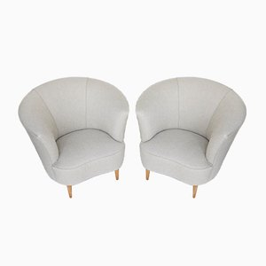 Chairs Attributed to Gio Ponti, Set of 2