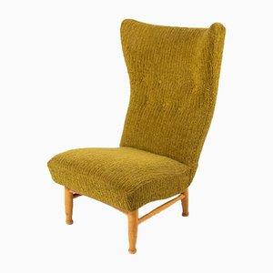 Sculptural Lounge Chair by Elias Svedberg for Nordiska Kompaniet, 1950s
