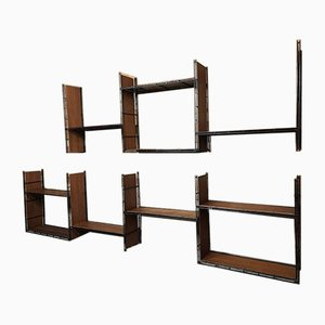 Large Pilastro Tomado Style Wall Unit, 1960s