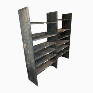 Industrial Metal Shelves, 1930s