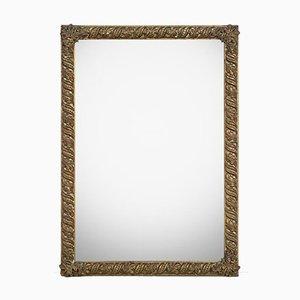 Rechteckiger Spiegel aus Kupfer