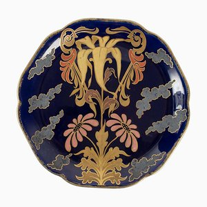 Earthenware Plate by Choisy Le Roi