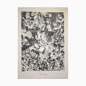Jean Dubuffet, tema dramático, litografía, 1959