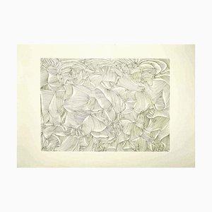 Fritz Baumgartner, Composition, Lithograph, 1970s