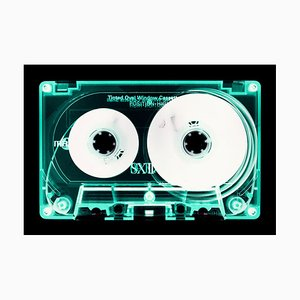 Tape Collection, Mint Tinted Cassette, Contemporary Pop Art Color Photography, 2017