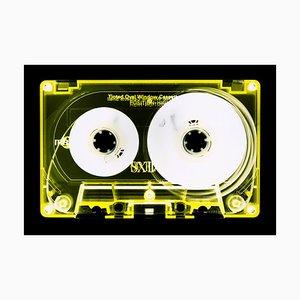 Tape Collection, Gelb Getönte Kassette, Zeitgenössische Pop Art Farbfotografie, 2017