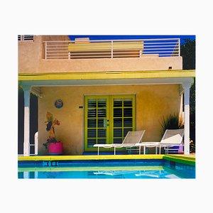 Palm Springs Poolside II, Kalifornien, Amerikanische Architektur Farbfotografie, 2000