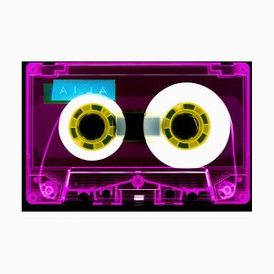 Tape Kollektion, Aila Pink, Zeitgenössische Pop Art Farbfotografie. 2021