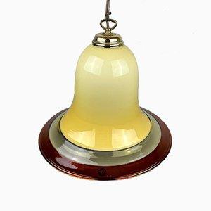Vintage Murano Glass Pendant Lamp by Res Murano Vetreria de Maio