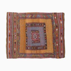 Türkischer Vintage Kilim Area Teppich