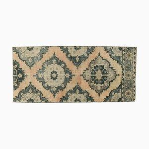 Handgefertigter türkischer Vintage Teppich aus handgewebter Wolle