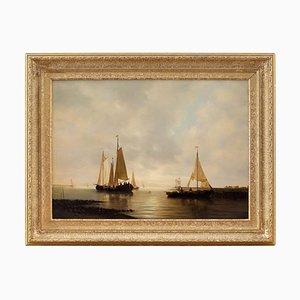 Cornelis Jan Van Rijsewijk, Sailing on Calm Seas