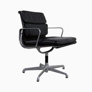 Swivel EA208 Soft Pad Desk Chair by Charles & Ray Eames for Herman Miller, 1970s