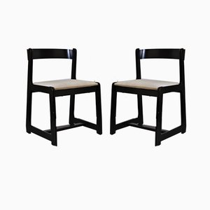 Esszimmerstühle von Willy Rizzo für Mario Sabot, 1970er, 2er Set