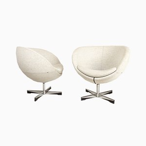 Scandinavian Modern Lounge Chairs by Sven Ivar Dysthe for Fora Form, Set of 2