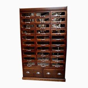 Haberdashery Shop Display Cabinet, 1940s