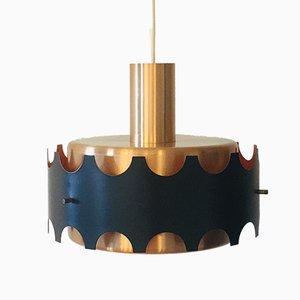 Ceiling Lamp from VEB Metalldrücker Halle, 1960s