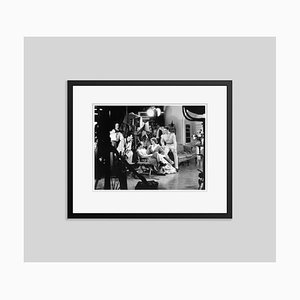 Curtiz, Olivia & Flynn in Action Archival Pigment Print Framed in Black by Everett Collection