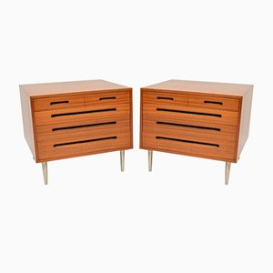 Vintage Chest of Drawers by Edward Wormley for Dunbar, 1960s, Set of 2