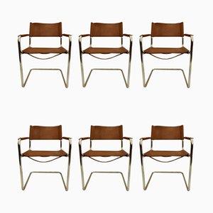 Set de Salon par Tito Agnoli pour Unifor, 1970s, Set de 6