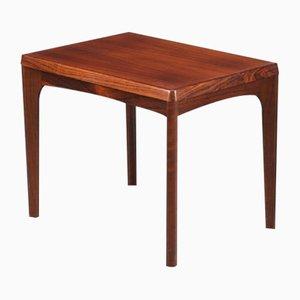 Danish Veneered Rosewood Side Table, 1960s