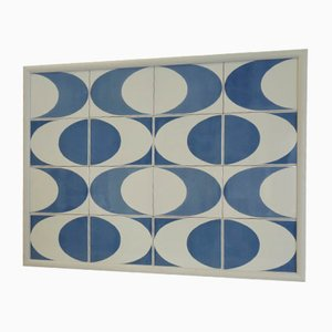 Italian Ceramic Panel by Gio Ponti for D'Agostino, 1974