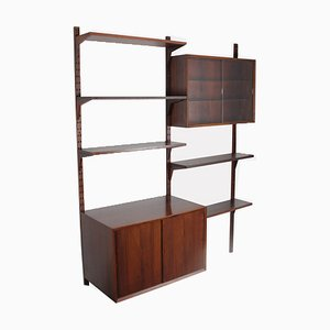 Scandinavian Rosewood Wall Unit by Poul Cadovius for Cado, 1960s