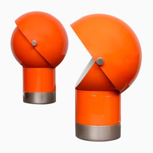 Vintage Lamps by Pavel Grus for Kamenický Šenov, 1970s, Set of 2