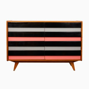 Colorful Czech Chest of Drawers by Jiří Jiroutek for Interier Praha, 1960s