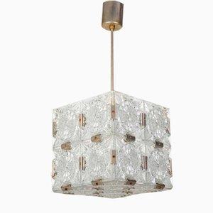 Cube Ceiling Lamp from Kamenický Šenov, 1960s