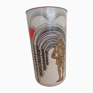 Architecture & Armour Cylindrical Tube Project Holder by Atelier Fornasetti, 1970s