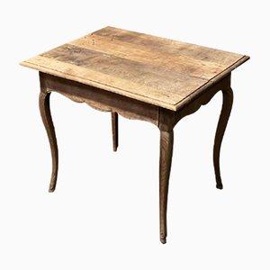 Tavolino in quercia, Francia, XVIII secolo