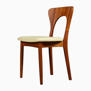 Mid-Century Peter Dining Chairs by Niels Koefoed for Koefoeds Hornslet, 1950s, Set of 6