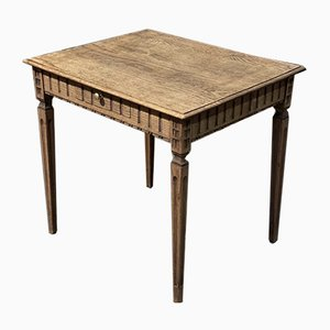 Antique French Oak Hall / Side Table